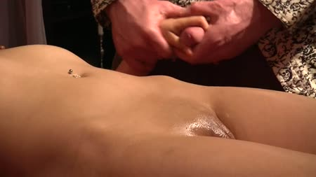 blonde cfnm duo getting oral of a loser